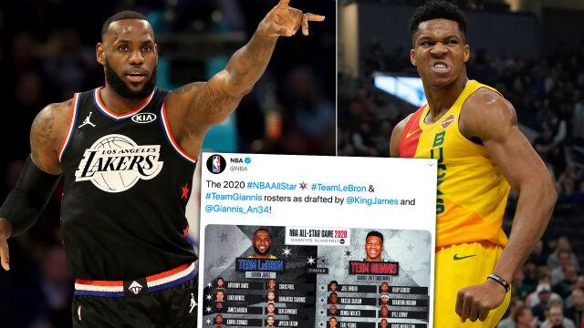 LeBron i Giannis wybrali. Podano składy na Mecz Gwiazd NBA