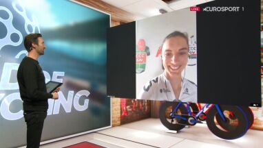 Na trenażerze w rowerowym raju. Ashleigh Moolman Pasio odnalazła się w wirtualnych wyścigach