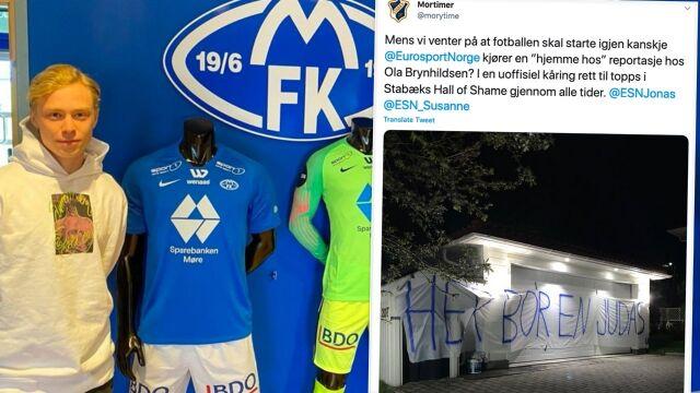 """""""Tu mieszka Judasz"""". W Norwegii nie pogodzili się z transferem piłkarza"""
