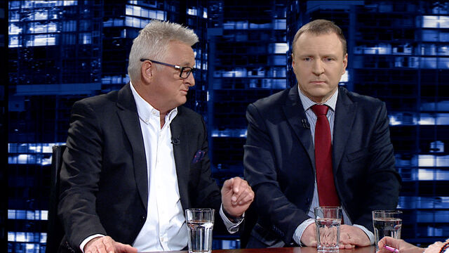 """Mirosław Drzewiecki i Jacek Kurski w """"Kropce nad i"""""""