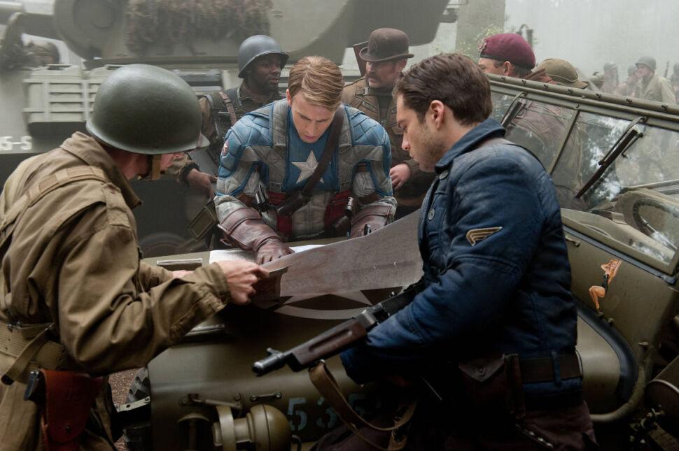 """""""Captain America. Pierwsze starcie"""", 2011"""