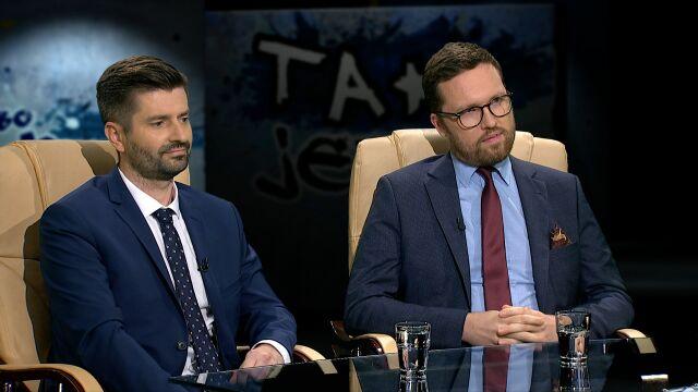 Krzysztof Śmiszek i Tymoteusz Zych w Tak Jest