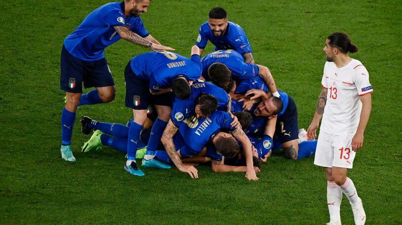 Włosi rozpędzili się na dobre. Szwajcarów zdeklasowali i mają awans