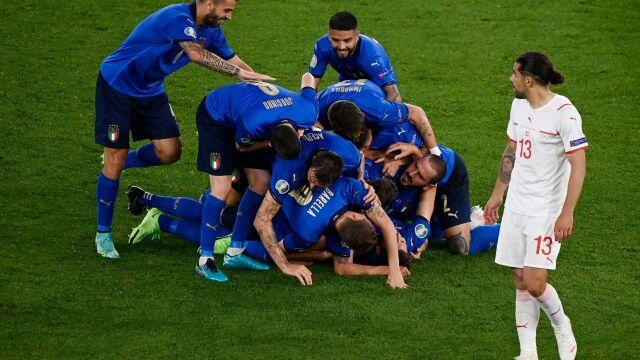 Włosi rozpędzili się na dobre. Szwajcarów zdeklasowali