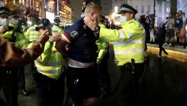 Trzydziestu aresztowanych. Szkoci narozrabiali w Londynie