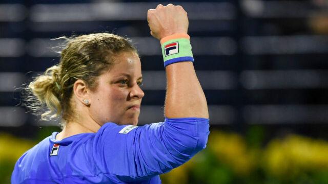 """Clijsters pokonana, ale zadowolona z powrotu. """"W niektórych wymianach wręcz dominowałam"""""""