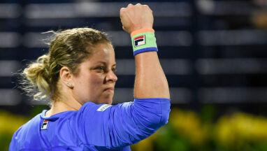 Clijsters pokonana, ale zadowolona z powrotu.
