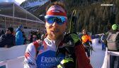 Nędza-Kubiniec po pojedynczej sztafecie mieszanej w mistrzostwach świata w Anterselvie