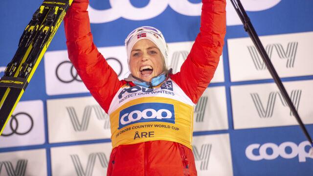 Wystartowały w Szwecji, finiszowały w Norwegii. Jubileuszowe zwycięstwo Johaug