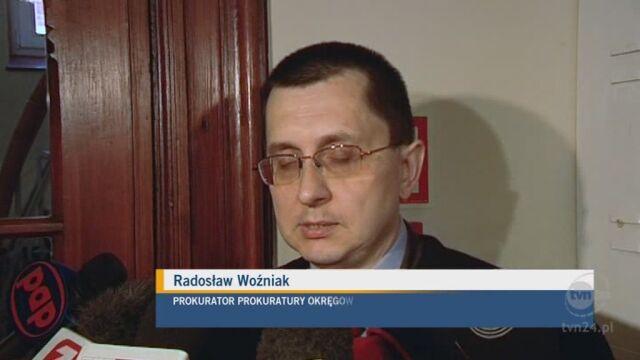 Prokurator: dochodziło do przywłaszczenia praw majątkowych. (TVN24)