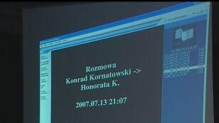 Rozmowa VII Kornatowski z Honoratą K.