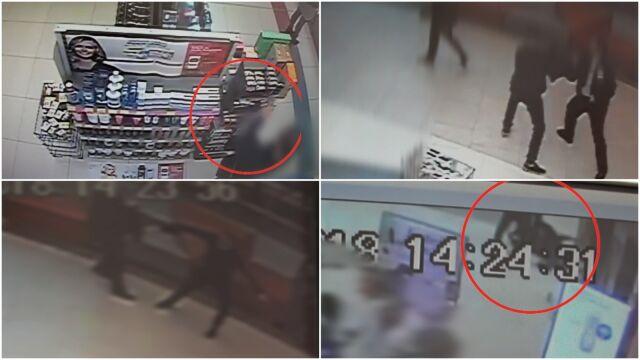 Ochroniarz szarpał się ze złodziejem. Pomógł tylko policjant po służbie