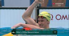 Tokio. Stubblety-Cook zdobył złoty medal w pływaniu na 200 m st. klasycznym mężczyzn