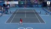 Tokio. Skrót meczu Djoković – Carreno-Busta 3. miejsce w turnieju tenisowym