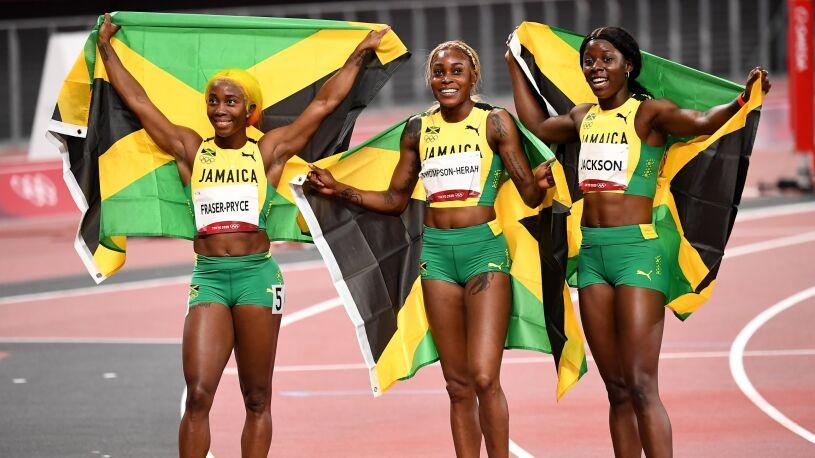 Trzy medale w niespełna 11 sekund. Jamajki najszybszymi kobietami świata