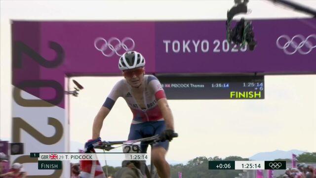 Tokio. Brytyjczyk zdobył złoty medal w kolarstwie górskim
