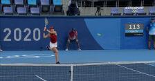 Tokio. Skrót meczu Bencic – Rybakina w półfinale turnieju tenisowego kobiet