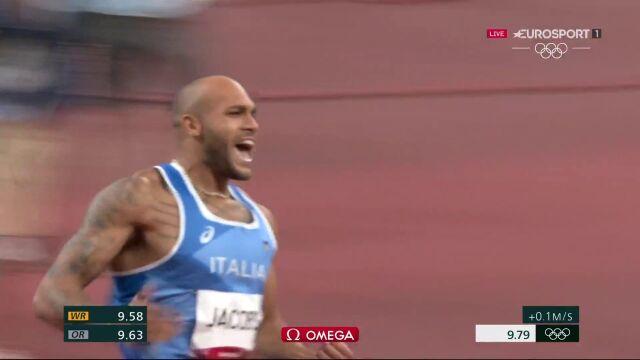 Tokio. Jacobs wygrywa finał biegu na 100 metrów mężczyzn