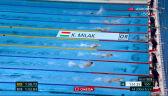 Tokio. Milak ze złotym medalem na dystansie 200 m motylkiem, Chmielewski 8.