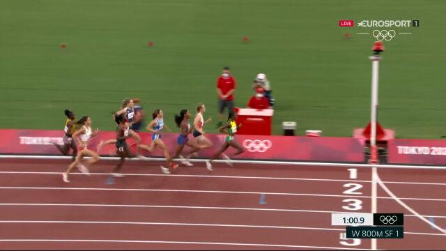Tokio. 5. miejsce Jóźwik w pierwszym półfinale biegu na 800 m kobiet