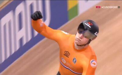 Holandia ze złotym medalem i rekordem świata w sprincie drużynowym w MŚ