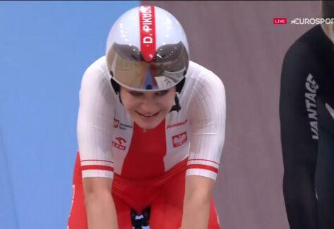 Pikulik z brązowym medalem mistrzostw świata, Kajihara najlepsza w omnium