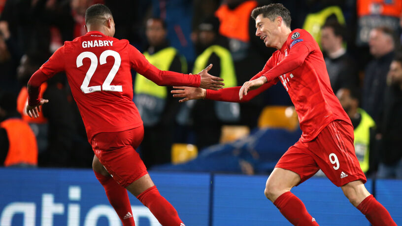 """Gnabry podziękował Lewandowskiemu. """"Mogę oddać mu tytuł piłkarza meczu"""""""
