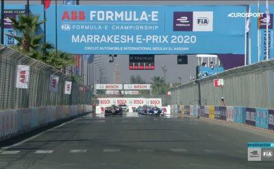 Skrót E-Prix Marrakeszu