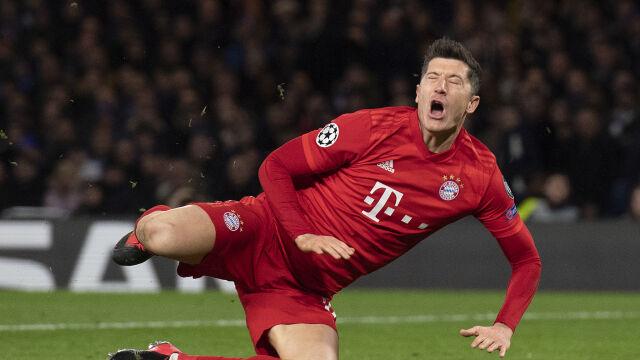 """Lewandowski jest jak maszyna. """"Grał 54 minuty z pękniętą kością"""""""