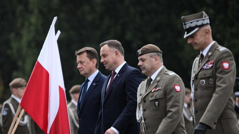 Święto Wojsk Obrony Terytorialnej. Prezydent: dziękuję wam z całego serca za służbę