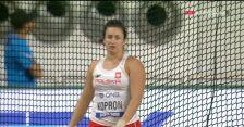 Zabrakło metra. Kopron nie awansowała do finału rzutu młotem w MŚ w Dausze