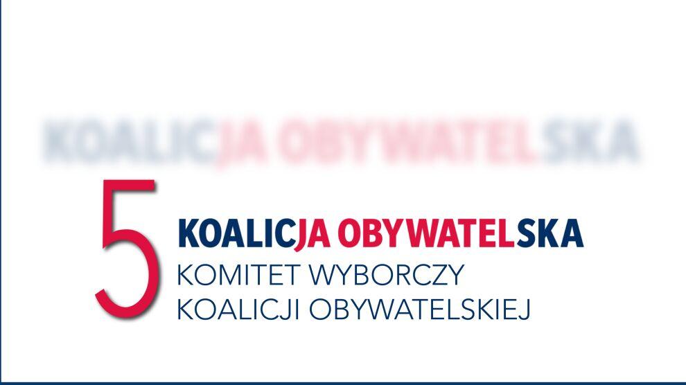 Kandydaci KO w wyborach do Sejmu (okręgi nr 21-41)