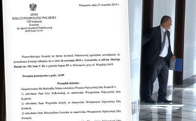 Wnioski o odwołanie trzech wiceprezesów NIK