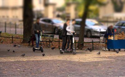 Krakowscy radni rozważają wprowadzenie zakazu dla hulajnóg w niektórych częściach miasta