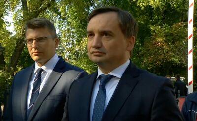 """Ziobro: materiał """"Superwizjera"""" ukazał się już po powołaniu Mariana Banasia na prezesa NIK"""
