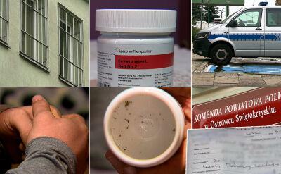 Policja zarekwirowała medyczną marihuanę zakupioną na receptę