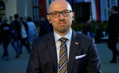 Łapiński: chce realizować nowe projekty, które już nie są związane z polityką