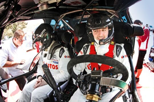 Robert Kubica (Citroen DS3 RRC) podczas Rajdu Wysp Kanaryjskich