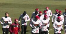 Piłkarze trenują po porażce z Ukrainą