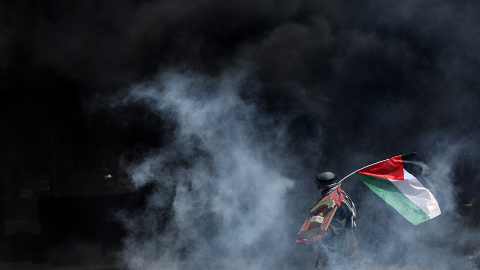 Znalezione obrazy dla zapytania zdjęcia ze starć w Gazie