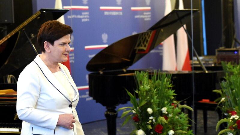 Premier Beata Szydło w Pekinie, maj 2017