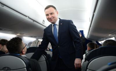 Politycy o podróży Andrzeja Dudy do Brukseli