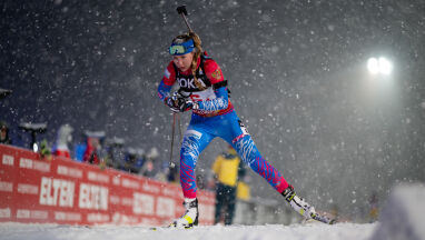 Rosjanie górą w biathlonowym World Team Challenge