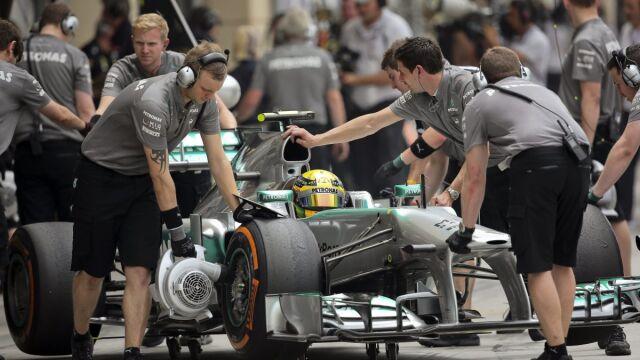 Hamilton stracił pięć miejsc. W Bahrajnie szampana nie będzie?
