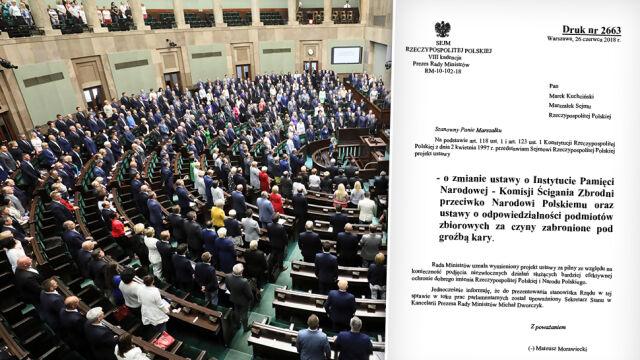 Sejm w ekspresowym tempie przegłosował nowelizację ustawy o IPN
