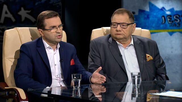 """Ryszard Kalisz i Zbigniew Girzyński w """"Tak Jest"""""""
