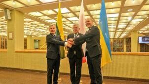 Karczewski w Wilnie o wyzwaniach  i zagrożeniach dla Polski, Litwy i Ukrainy