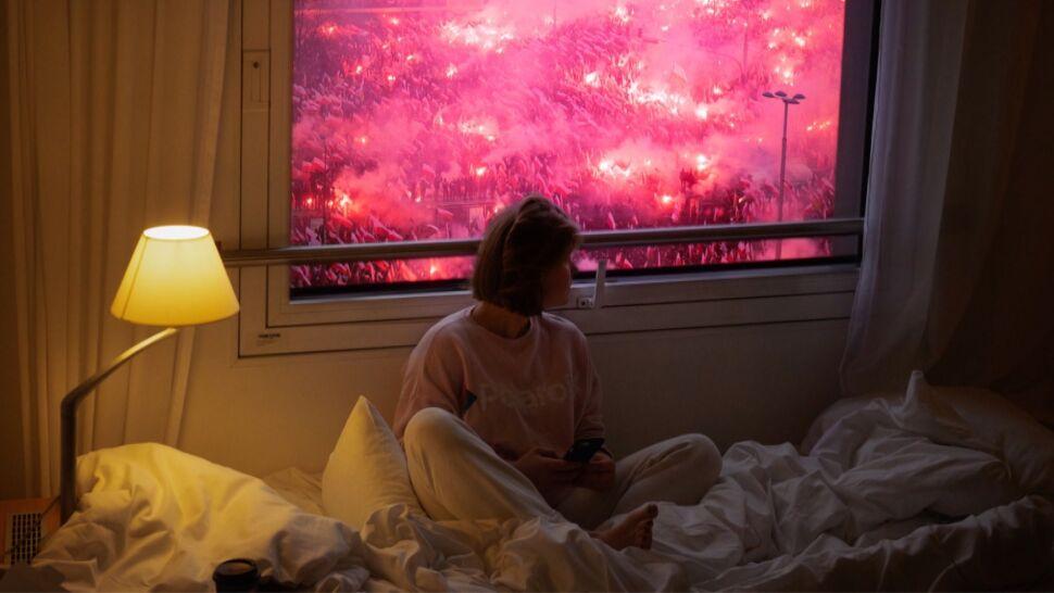 """""""Chciałam zestawić totalny spokój z tym, co się będzie działo za oknem"""""""