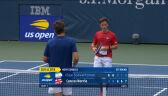Schwartzman odpadł w 1. rundzie US Open