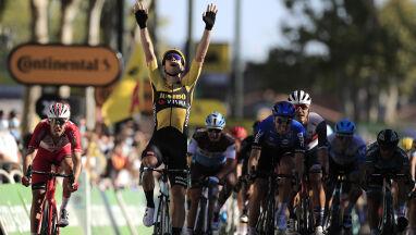 Druga wygrana w trzy dni. Van Aert pokazuje klasę na Tour de France